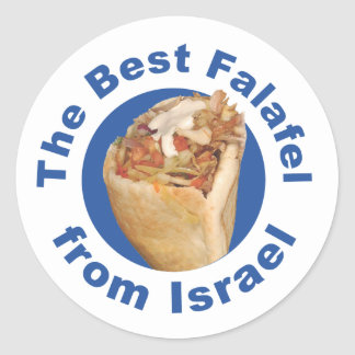 The best falafel from Israel Round Sticker