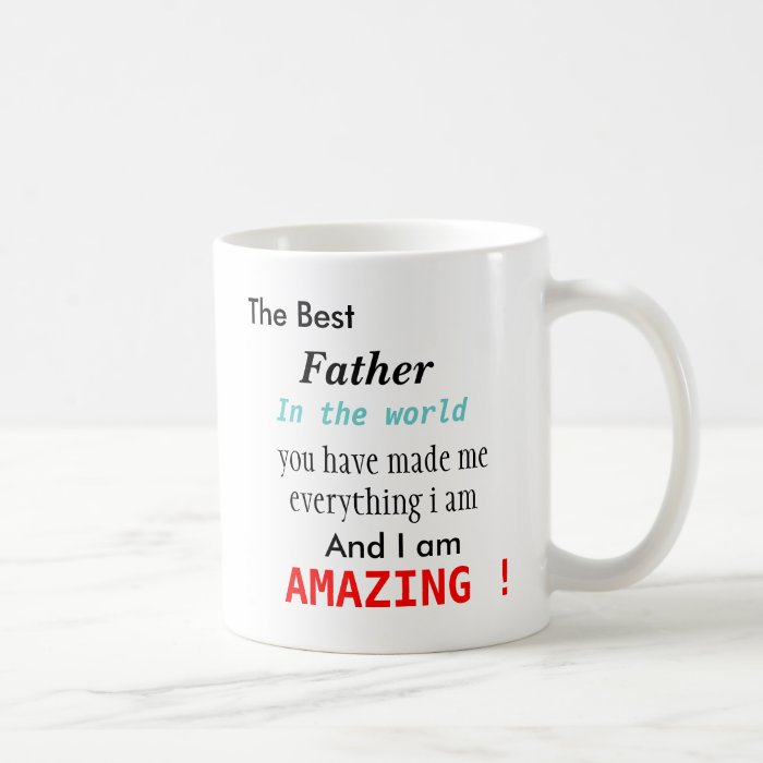 The Best Father In The World Coffee Mug Zazzle
