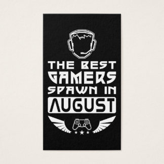 The Best Gamers Spawn in August Business Card