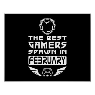 The Best Gamers Spawn in February Poster
