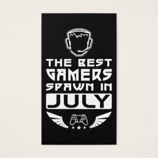 The Best Gamers Spawn in July Business Card