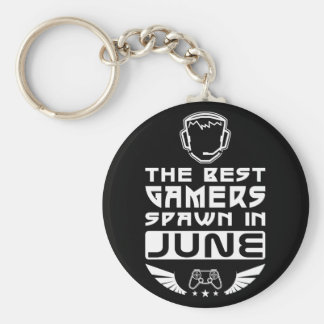 The Best Gamers Spawn in June Keychain
