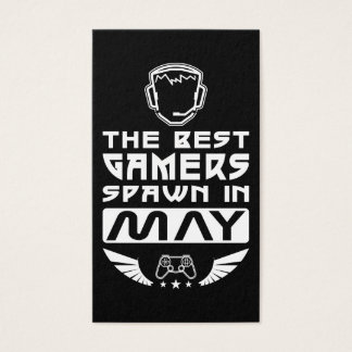 The Best Gamers Spawn in May Business Card