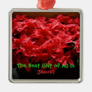 The Best Gift of All is Jesus - Magnet Metal Ornament