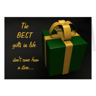 The Best Gifts Greeting Card