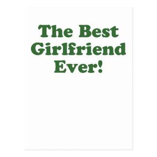 The Best Girlfriend Ever Postcard