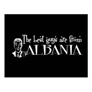 The Best Girls are from Albania Postcard