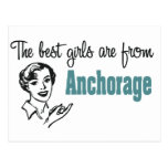 The Best Girls are from Anchorage Postcards
