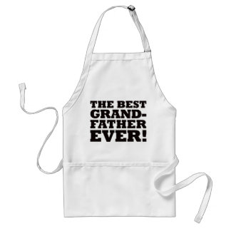 The Best Grandfather Ever Adult Apron