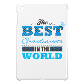 The best grandparents in the world cover for the iPad mini