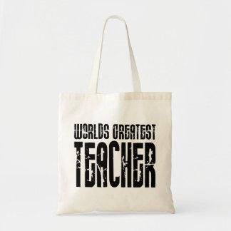 The Best Great Teachers : World's Greatest Teacher Tote Bag