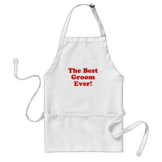 The Best Groom Ever Adult Apron