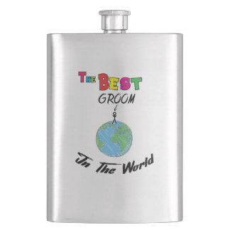 The Best groom in the World, groom Flask