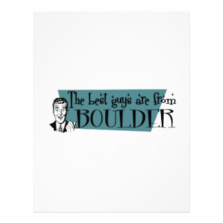 The best guys are from Boulder Letterhead