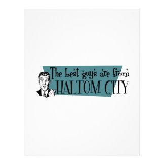 The best guys are from Haltom City Letterhead