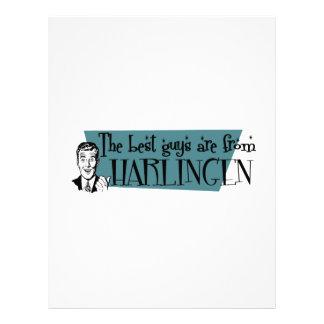 The best guys are from Harlingen Letterhead