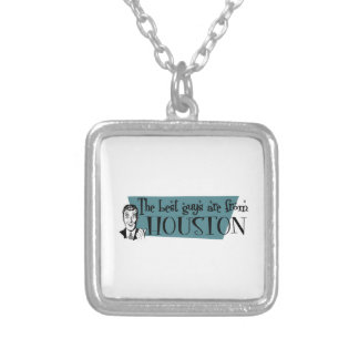 The best guys are from Houston Square Pendant Necklace