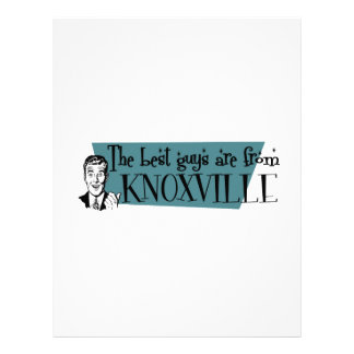The best guys are from Knoxville Letterhead
