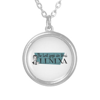 The best guys are from Lenexa Round Pendant Necklace