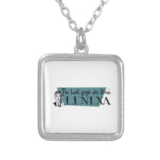 The best guys are from Lenexa Square Pendant Necklace