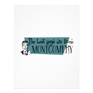 The best guys are from Montgomery Letterhead
