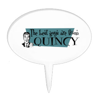 The best guys are from Quincy MA Cake Topper