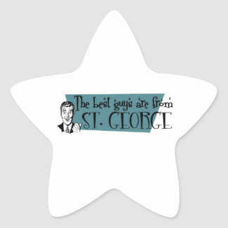 The best guys are from St. George Star Sticker