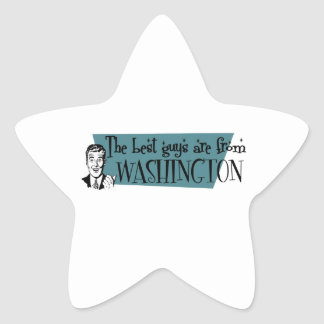 The best guys are from Washington Star Sticker