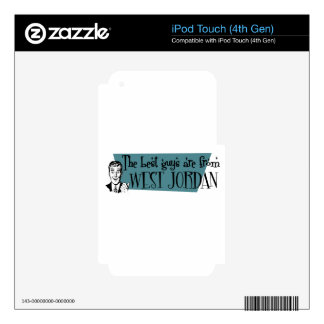 The best guys are from West Jordan iPod Touch 4G Skins