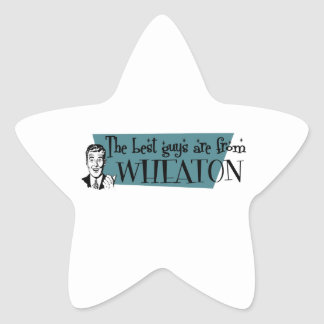 The best guys are from Wheaton Star Sticker