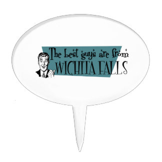 The best guys are from Wichita  Falls Cake Topper