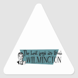The best guys are from Wilmington DE Triangle Sticker