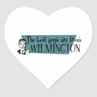 The best guys are from Wilmington NC Heart Sticker