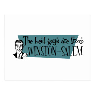The best guys are from Winston-Salem Postcard