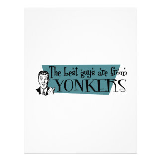 The best guys are from Yonkers Letterhead