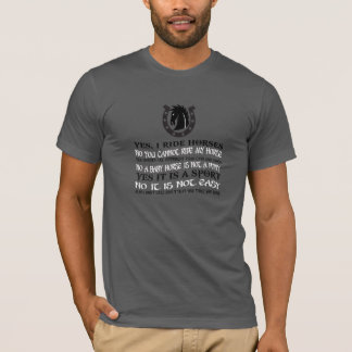 The Best Horse T-Shirt Ever!