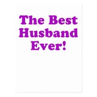 The Best Husband Ever Postcard