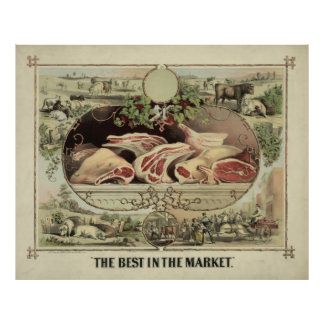 The Best in the Market [1872] Print