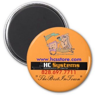 The Best In Town button Magnet
