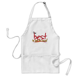 the best is yet to come apron