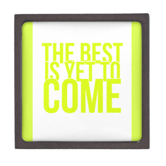 THE BEST IS YET TO COME POSITIVE OUTLOOK MOTIVATIO PREMIUM JEWELRY BOXES
