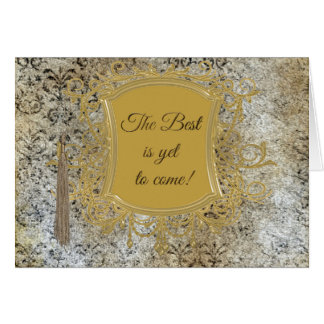The Best is Yet to Come, Tassel on Frame Card
