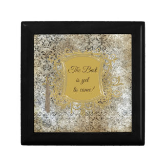 The Best is Yet to Come, Tassel on Frame Gift Box