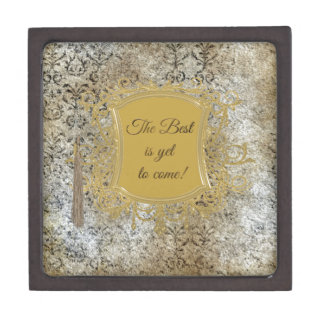 The Best is Yet to Come, Tassel on Frame Keepsake Box
