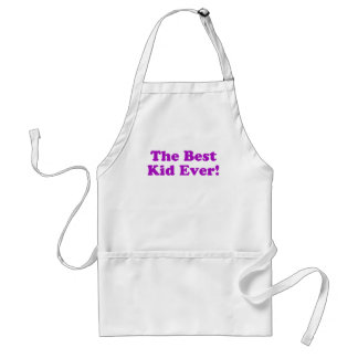 The Best Kid Ever Adult Apron