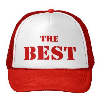 """THE BEST La gorra de los mejores """"El Mejor"""" Rojo"""
