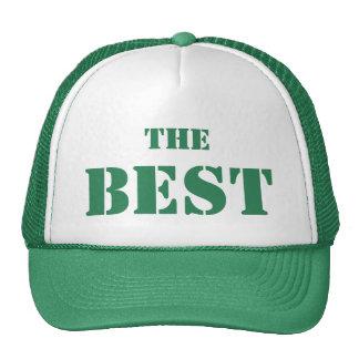 """THE BEST La gorra de los mejores """"El Mejor"""" Verde"""