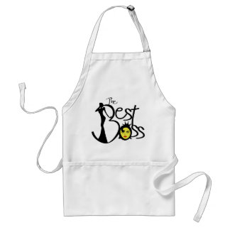 The Best lady boss Adult Apron