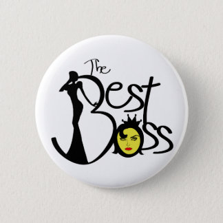 The Best lady boss Button