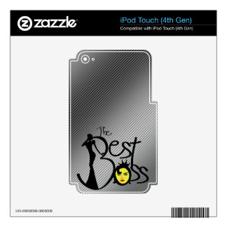 The Best lady boss Decals For iPod Touch 4G